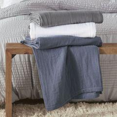 Soft Cotton Blanket Blue