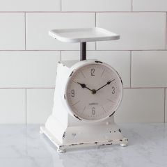 Chippy Cottage Scale Clock