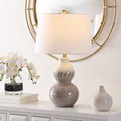 Gourd Silhouette Ceramic Lamp