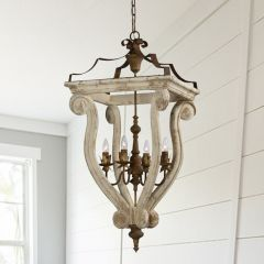 Country Cottage Chandelier