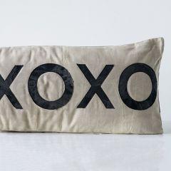 XO Applique Accent Pillow