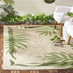 Palm Fronds Area Rug