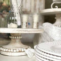 AFH Exclusive - Farmhouse Beaded Display Riser