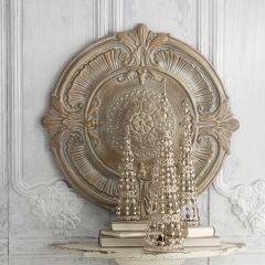 Antique Elegance Round Wall Medallion