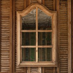 Arched Mirrored Window Wall Decor