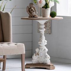 Architectural Ambiance Round Accent Table