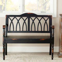 Architectural Design Wood Bench