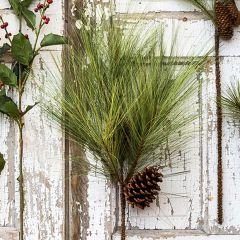 Artificial Bushy Pine Stem
