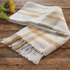 Autumn Plaid Throw Blanket