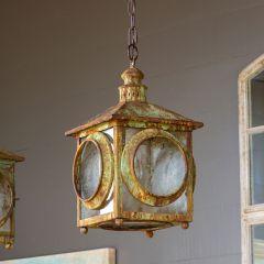 Rustic Portico Lantern Pendant