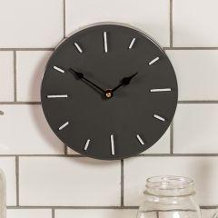 Bold Metal Modern Wall Clock