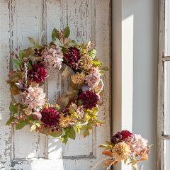 Garden Blooms Wreath