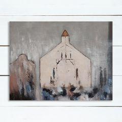 Little Chapel Canvas Wall Art