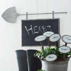 Hanging Shovel Chalkboard