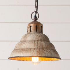 Vintage Inspired Patina Pendant Light