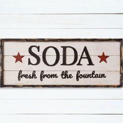Primitive Farmhouse SODA Wall Sign