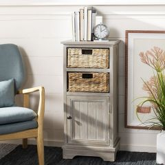 Traditional Cabinet With Baskets
