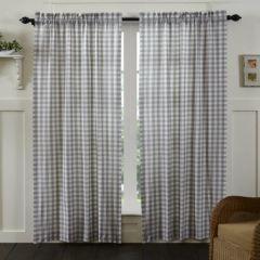 Classic Buffalo Check Curtain Panel Set of 2