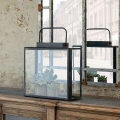 Antiqued Lantern Terrarium