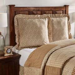 Country Floral Euro Sham Set of 2