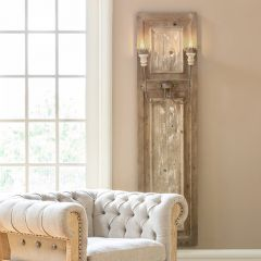 Tall Panel Wall Sconce