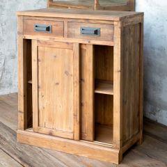 Bar Back Storage Cabinet