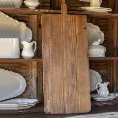 Reclaimed Wood Bakery Wall Board