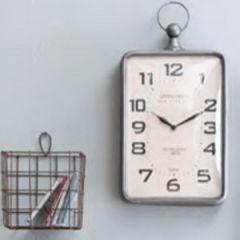 Grand Hotel Rectangular Wall Clock