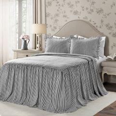 Classic Grace Ticking Stripe Bedding Set