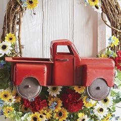 Decorative Metal Farm Truck