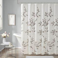 Beautiful Botanical Print Shower Curtain