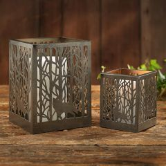 Birch Branches Candle Holder