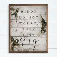 Birds Sing Wall Art