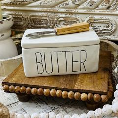 Bistro Butter Dish With Spreader