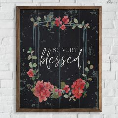 Blessed Geraniums Wall Art