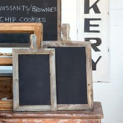 Breadboard Chalkboard, Set of 2