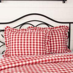 Bright Buffalo Square Standard Pillow Sham Set of 2