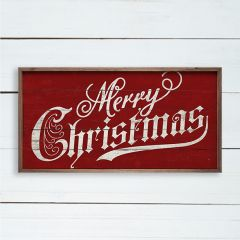 Bright Merry Christmas Wall Sign