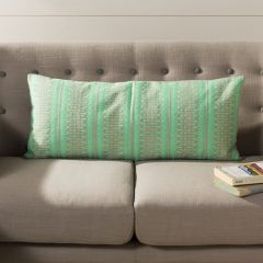 Bright Patterned Rectangular Pillow