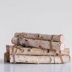 Bundle of 3 Birch Logs
