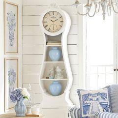 Chic Cottage Floor Clock