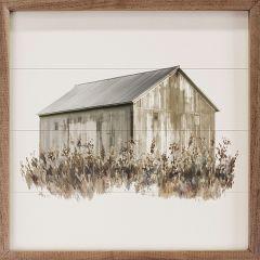 Autumn Barn Framed Wall Art