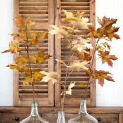 Autumn Leaves Stem Set of 12