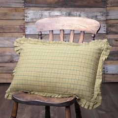 Country Plaid Pattern Pillow