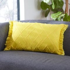 Bright Diamond Pattern Pillow
