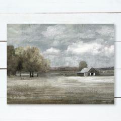 Barn Landscape Scene Wall Art
