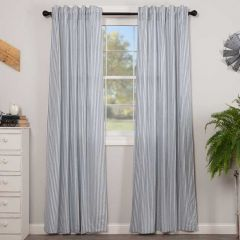 Ticking Stripe Curtain Panel Set of 2