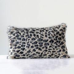 Leopard Print Accent Pillow