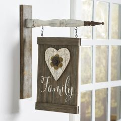 Family Board Sign Arrow Replacement