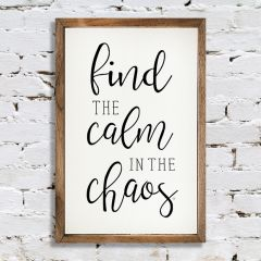 Calm in the Chaos Wall Art